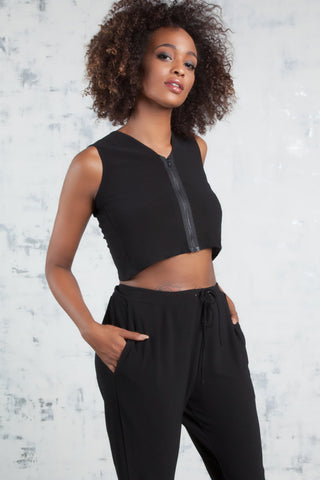 2-Way Convertible Crop Top