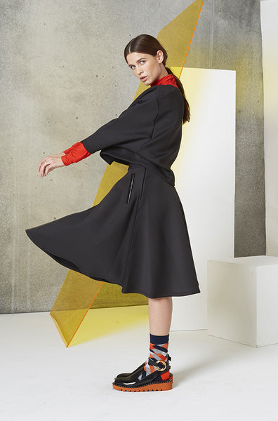 Neoprene Parachute Circle Skirt