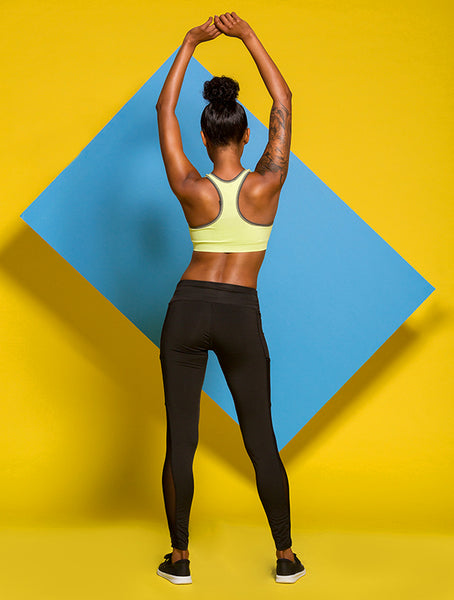 Revel PRO Sports Bra in Pistachio
