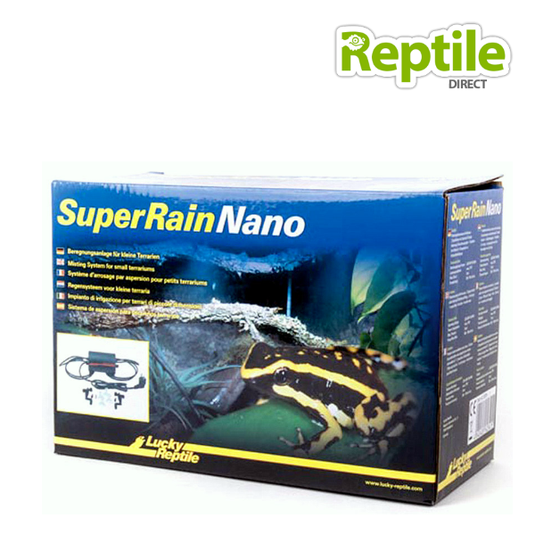 Reptile Misting System : Lucky reptile superrain nano mist system direct