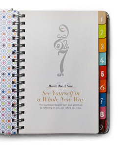 The Nine: A Pregnancy Countdown Journal by Kelly Sopp