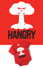 Load image into Gallery viewer, Funny Onesie Hangry Graphic