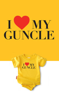 I Heart My Guncle Snapsuit™ (3-pack)
