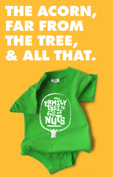 My Family Tree Is Full of Nuts Snapsuit™ (3-pack)