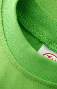 Green Onesie Quality Stitch