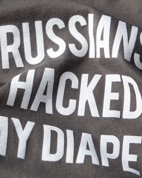 Russians Hacked My Diaper Snapsuit™ (3-pack)