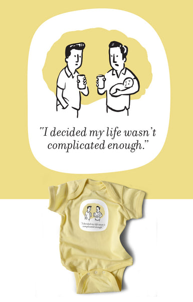 My Life Wasn't Complicated Enough Snapsuit (Butter) 3-Pack