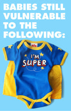 Load image into Gallery viewer, Super Baby Onesie Front