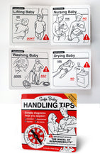 Load image into Gallery viewer, Safe Baby Handling Tips by Dave and Kelly Sopp (12-pack)