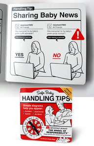 Safe Baby Handling Tips by Dave and Kelly Sopp (12-pack)