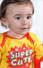 Load image into Gallery viewer, Super Baby Onesie Model