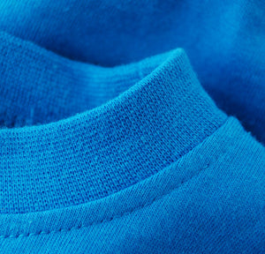 Blue Onesie Woven Tag