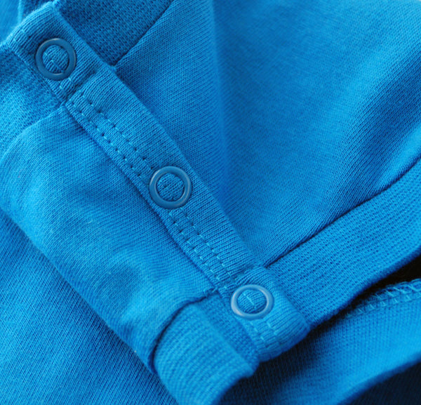 Blue Onesie Quality Stitch
