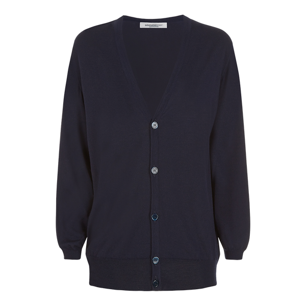 Alex Boyfriend Cardigan Navy