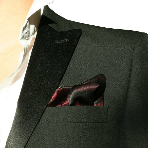 Silk Pocket Square-Norman Foster flip