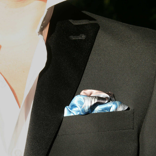Silk Pocket Square-Scaffold plaid