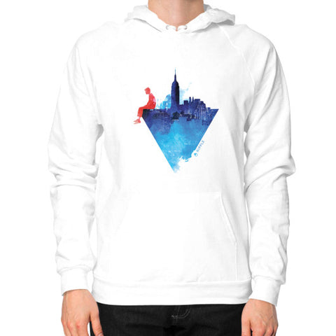City Limits Hoodie (Men's) White - Ripple Design