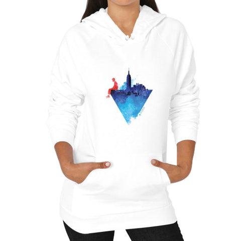 City Limits Hoodie (Women's) White - Ripple Design
