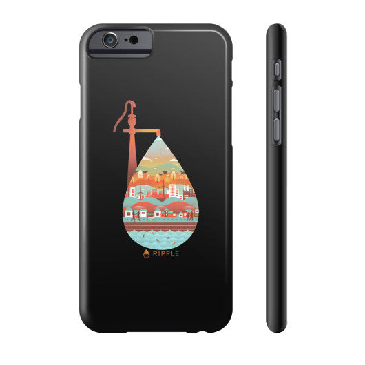 Life's Well Phone Case Slim iPhone 6 - Ripple Design