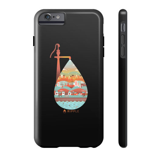 Life's Well Phone Case Tough iPhone 6 Plus - Ripple Design