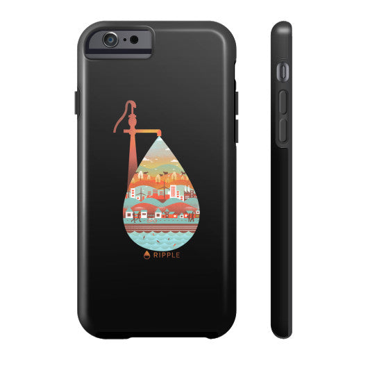 Life's Well Phone Case Tough iPhone 6 - Ripple Design