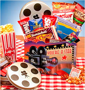Gift Baskets for Movie Lovers Collection at Oxemize.com