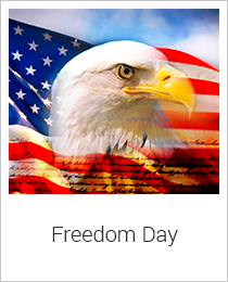 National Freedom Day Hand Selected Collection at Oxemegifts.com