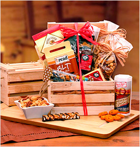 Snack Gift Baskets Collection at Oxemize.com