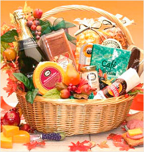 Thanksgiving Gift Baskets Collection at Oxemize.com