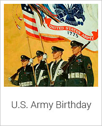 U.S. Army Birthday Hand Selected Collection at Oxemegifts.com