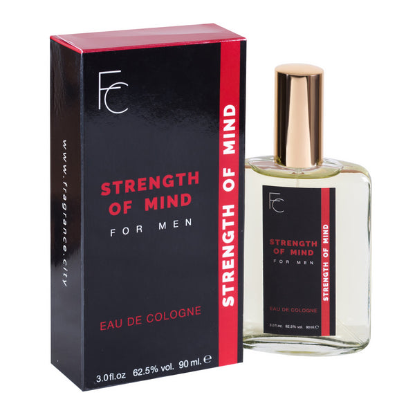 Strength of Mind for Men Eau De Cologne 3oz by Fragrance City