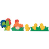 Wooden Jigsaw Puzzles for Toddlers Kids Baby 2 3 4 5 Year Preschool Chicken Fam