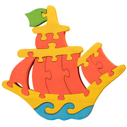 Wooden Jigsaw Puzzles for Toddlers Kids Baby 2 3 4 5 Year Preschool Toys Ship