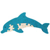 Wooden Jigsaw Puzzles for Toddlers Kids Baby 2 3 4 5 Year Preschool Dolphin