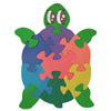Wooden Jigsaw Puzzles for Toddlers Kids Baby 2 3 4 5 Year Preschool Toys Turtle