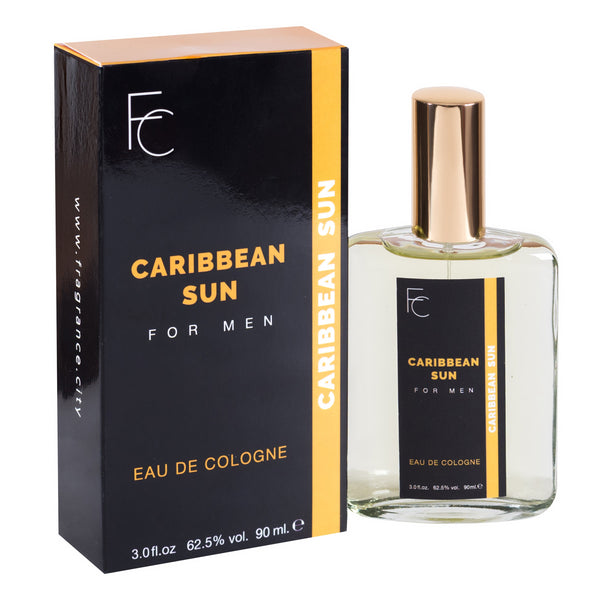 Caribbean Sun for Men Eau De Cologne 3oz by Fragrance City