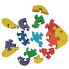 Wooden Jigsaw Puzzles for Toddlers Kids Baby 2 3 4 5 Year Preschool Toys Fish