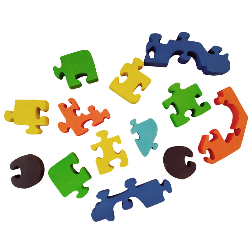 Wooden Jigsaw Puzzles for Toddlers Kids Baby 2 3 4 5 Year Preschool Toys Truck