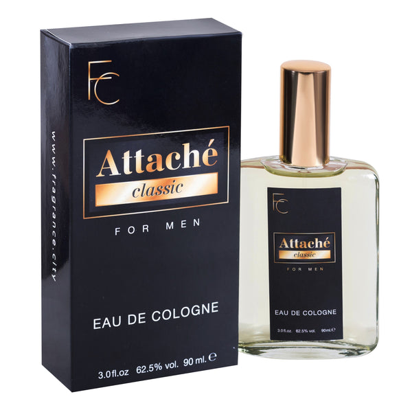 Attache for Men Eau De Cologne 3oz by Fragrance City