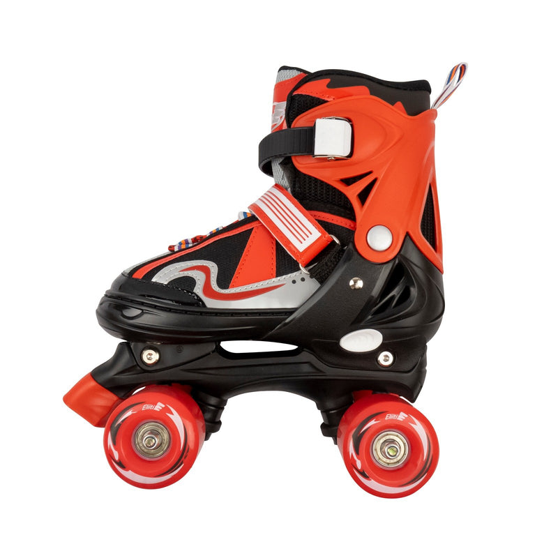 Eliiti Adjustable Kids Quad Roller Skates for Girls and Boys Size 10J to 6