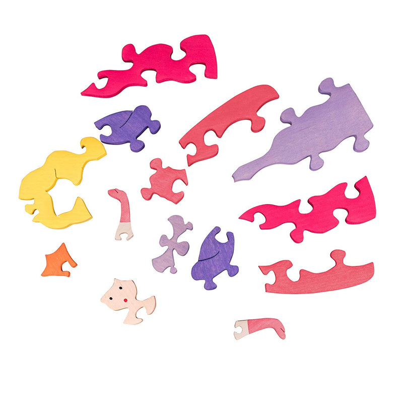 Wooden Puzzles for Toddlers Kids Baby 2 3 4 5 Year Olds Preschool Toys Princess