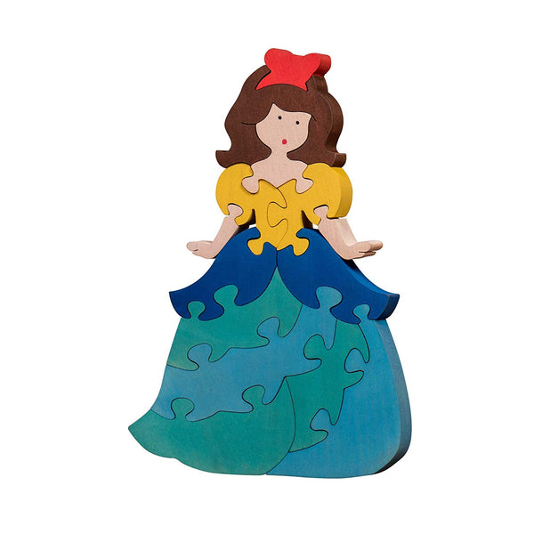 Wooden Puzzles for Toddlers Kids Baby 2 3 4 5 Year Olds Preschool Toys Shade Princess