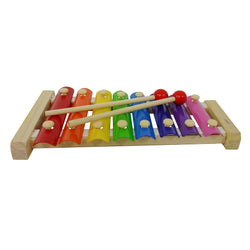 Eliiti Wooden Xylophone Musical Developmental Toy with 2 Mallets for Toddlers Kids 3 to 6 Years Old