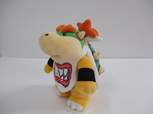 Super Mario Plush Toys Stuffed Animals Koopa Bowser Jr 8inch