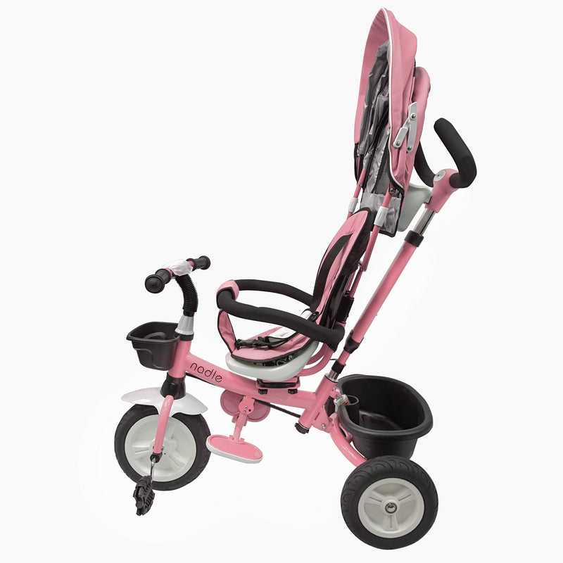 Baby Kids Tricycle Stroller for 2-5 Year Old Toddler Boy Girl Pink Blue