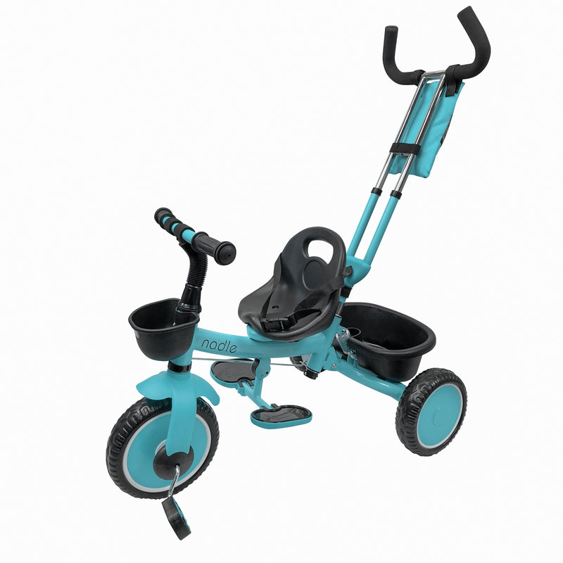 Baby Kids Tricycle with Push Handle for 2-5 Year Old Toddler Boy Girl