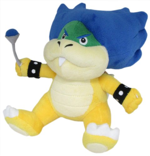 Super Mario Plush Toys Stuffed Animals Ludwig Von Koopa 7inch