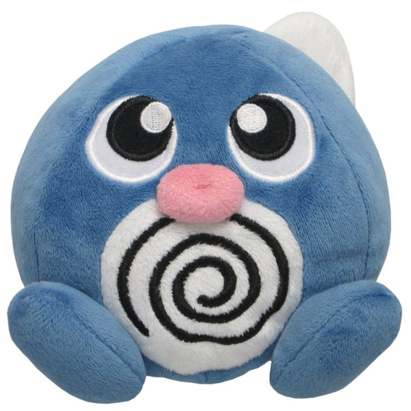 Pokemon Plush Toys Stuffed Animals Poliwag 4 1/2inch