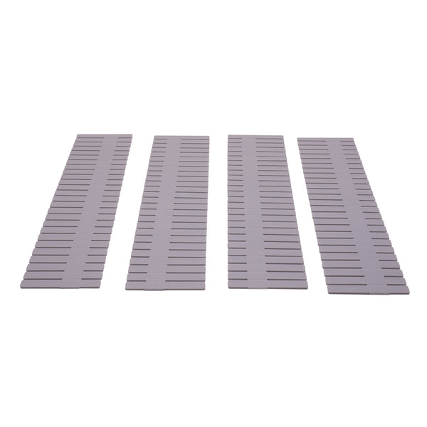 Edelvey Drawer Divider Tabs Organizers, 4Pcs, 13x3 inches each