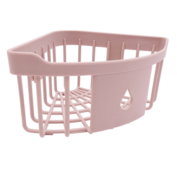 Edelvey Small Shower Caddy Corner Organizer Rack Wall Mount No Drill Adhesive
